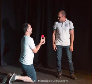 """Spectacle L'improvisoire"""" de l'atelier d'improvisation théâtrale (samedi 2 sept 2017)"""